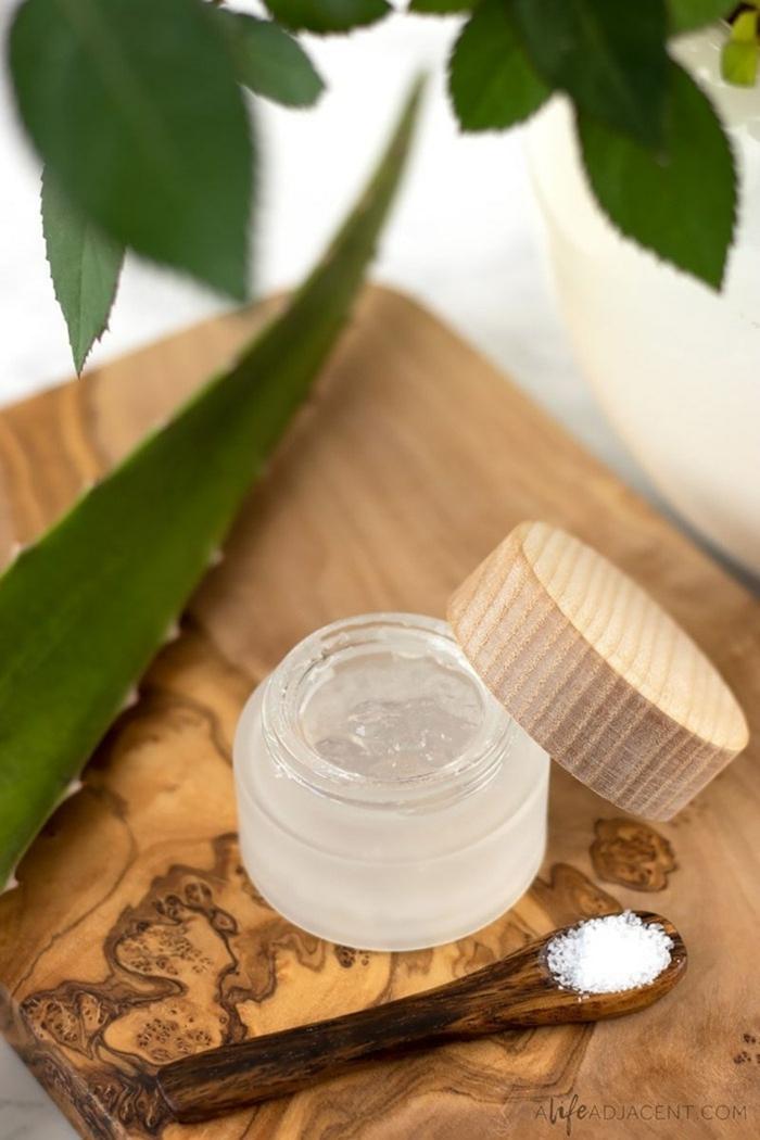schönheit tipps rezepte masken aloe vera gel gesicht selber machen diy rezepte