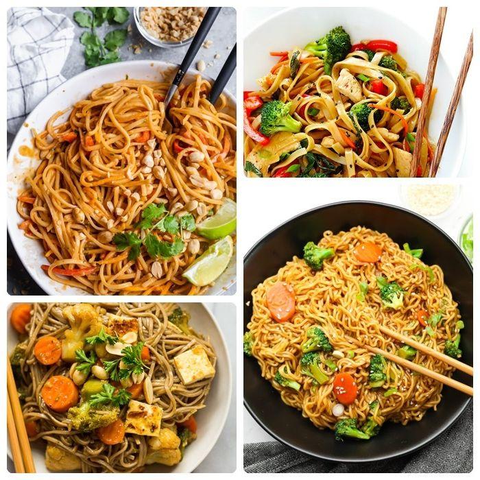 schnelle pasta rezepte für jeden tag nudeln mit gemüse verschiedene rezepte japanisches mittagessen