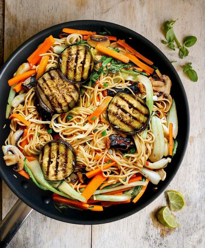 schnelle pasta rezepte für jeden tag zucchini bällchen nudeln mit gemüse
