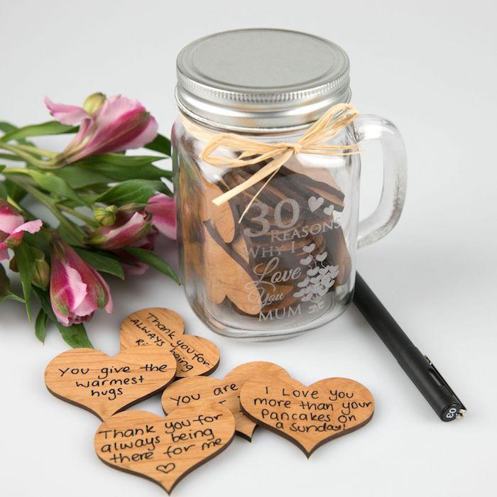 valentinstag geschenke geschenk valentinstag ideen valentinstag valentinstag geschenke für frauen einmachglas notizen herzfürmig gründe dich zu lieben