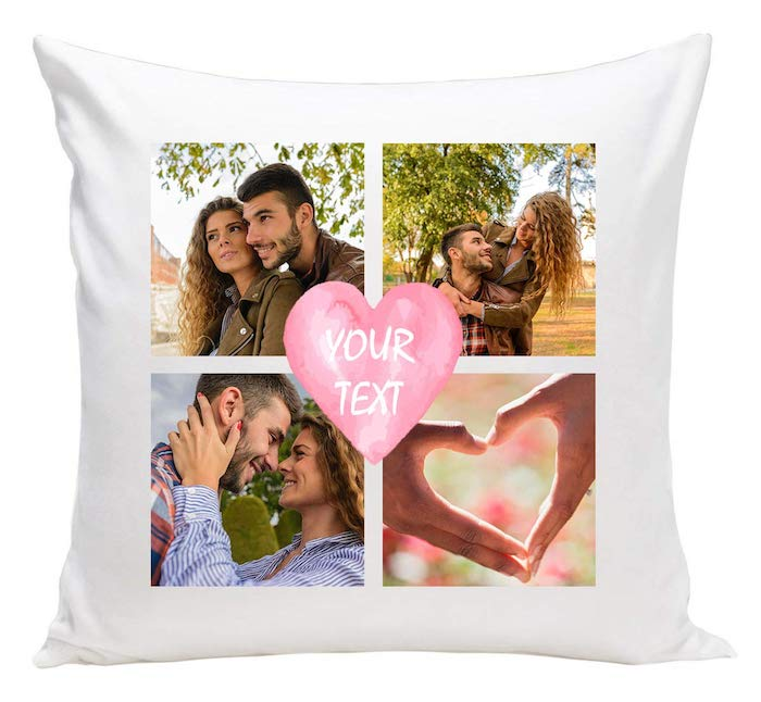 valentinstag geschenke selber machen ideen valentinstag valentinstag geschenk frau kopfkissen personalisiert fotos