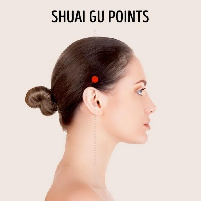 was tun bei kopfschmerzen tipps gegen kopfschmerzen kopfschmerzen ursachen stechende kopfschmerzen massage punkte über den ohren shuai gu punkte massage