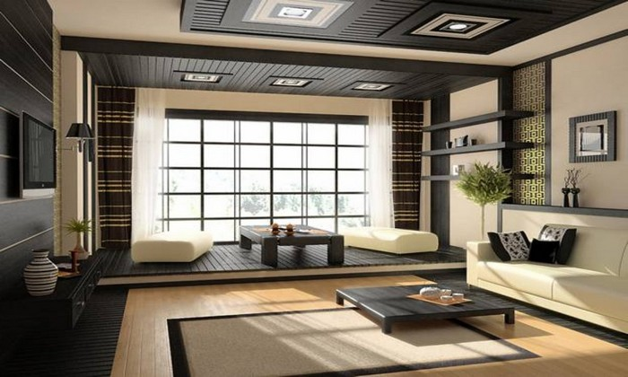 wohnzimmer japanischer stil wabi sabi wohnen japanische inneneinrichtung wohnzimmer japanisch einrichten wabi sabi interior niedriger teetisch natürliche wandfarben beige sofa kremig