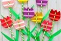 Basteln für Muttertag mit Papier – originelle Ideen, Ihre Mutter zu erfreuen