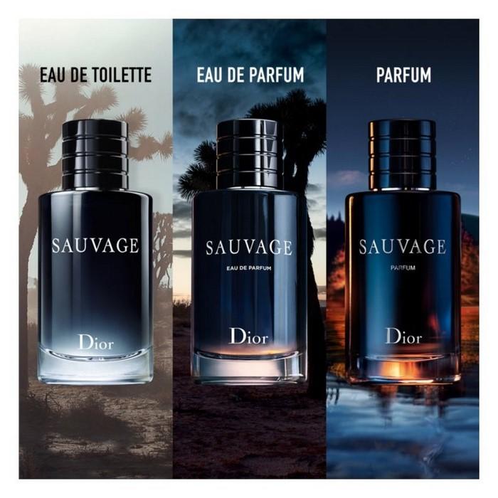 dior sauvage eau de parfum für herren die besten parfüme für männer kaufen flasche auf blauem hintergrund