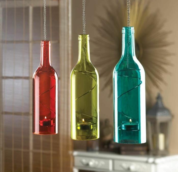 diy ideen flaschen kerzenhalter resized