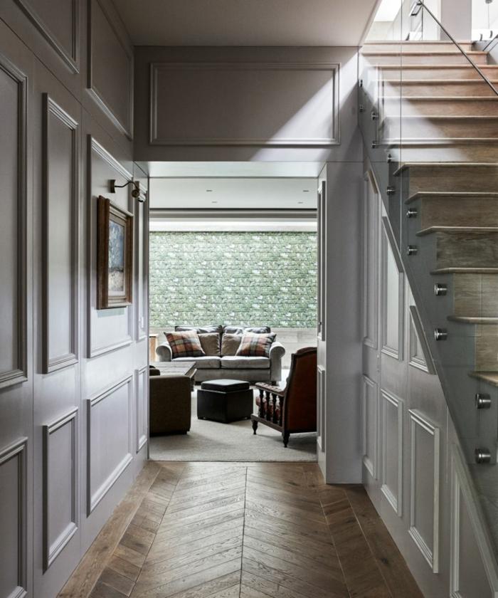 eingangsbreiche haus inneneinrichtung inspiration minimalistische ausstattung bild an die wand flur gestalten ideen und moderne inspiration