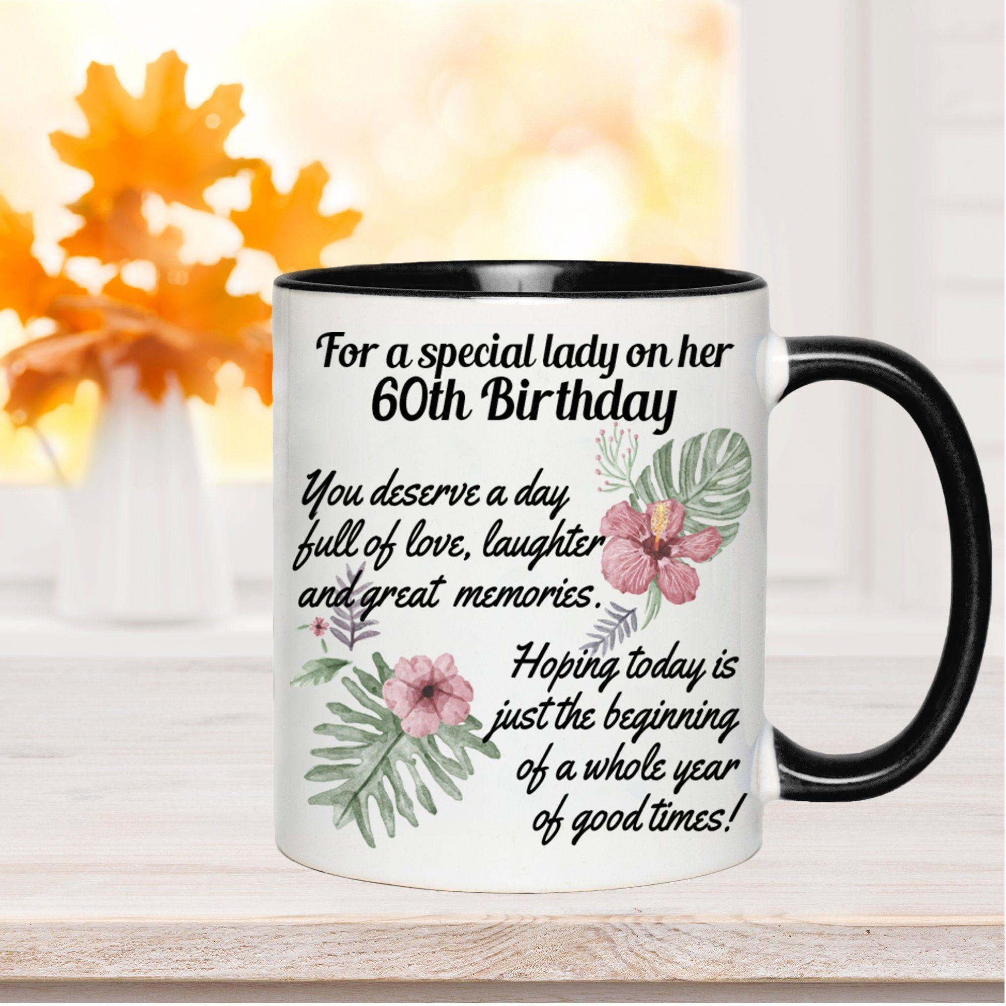 geburtstagsgeschenke zum 60 geburtstag frau originelle geschenke zum 60 geburtstag für frauen lustige geschenke zum 60 geburtstag kaffeetasse personalisiert mit überschrift zum 60 geburtstag