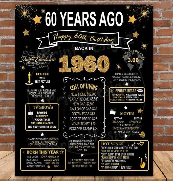 geschenke zum 60 geburtstag vater ideen zum 60 geburtstag lustige geschenke zum 60 geburtstag plakate mit glückwünschen und kleine botschaften