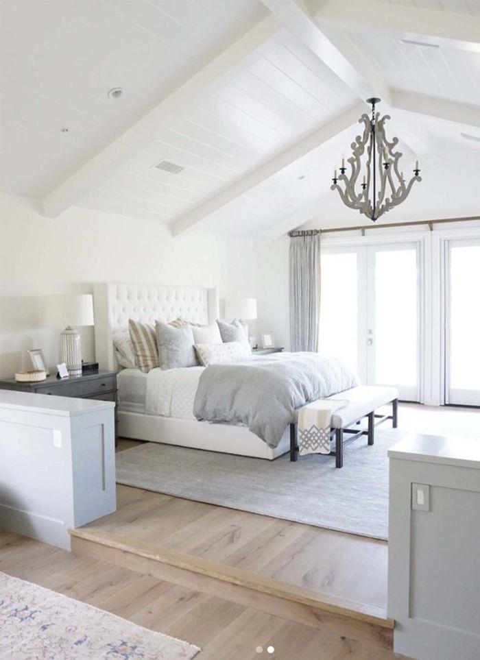 holzpaneele streichen schlafzimmer dekorieren hohe decke aus holz holzdecke in weiß holzdielen alte holzdecke weiß streichen ohne abschleifen
