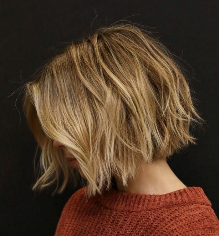 inspiration für kurzhaarschnitte blonde haare gestuft bob frisuren damen frisuren 2021 inspo leicht gewellte haare