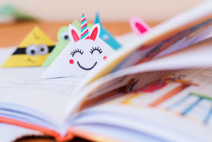 muttertagsgeschenk basteln kurzfristige geschenke selber machen schnelles geschenk für mama basteln geschenke für mama selber machen lesezeichen aus papier origami eichhorn machen