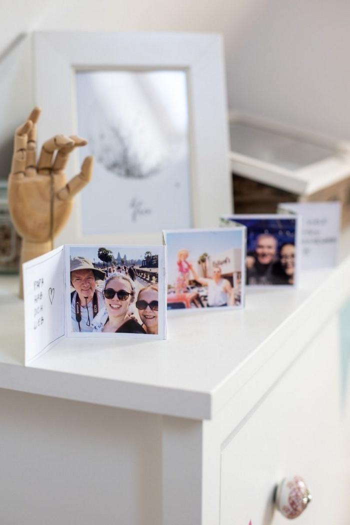 muttertagsgeschenk selbstgemacht kinder basteln zum muttertag muttertag basteln leporello fotobuch selber machen