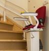 plattform lift treppenstuhl zu hause installieren für alte leute hilfe treppenhaus roter stuhl garaventalift