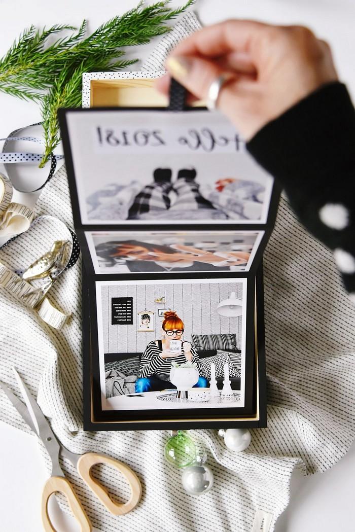 schöne muttertagsgeschenke basteln für muttertag bastelideen muttertag leporello fotoalbum selber machen anleitung