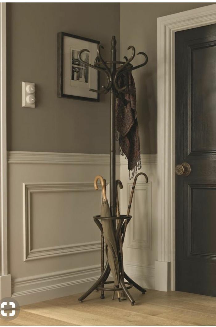 vintage elegante aufhänger eingangsbereich gestalten modern und stylish minimalistische inneneinrichtung inspiration