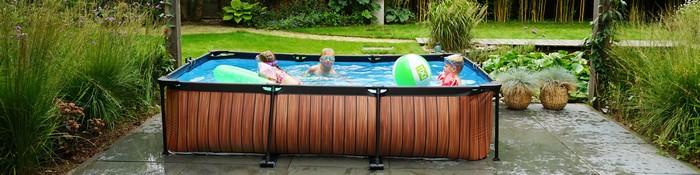 aufstellpools gartenaufstellpool rechteckig pool für garten pool zum aufstellen spieöpreis rechteckiger pool aus massivholz kinder spielen