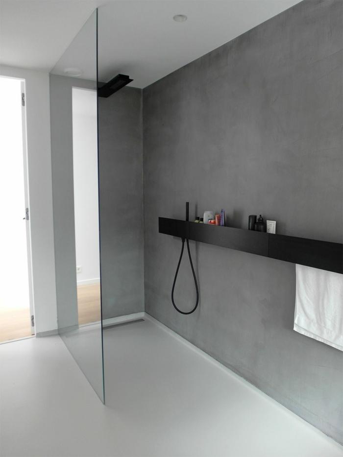badezimmer mit mikrozement