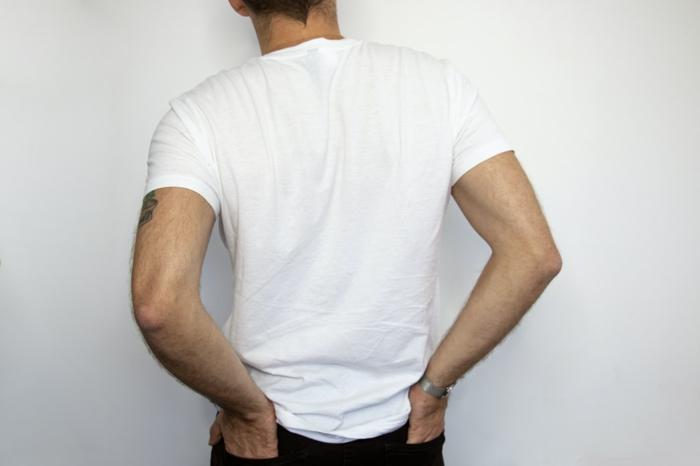 t shirt selbst bedrucken kreative ideen weißes T-Shirt selber gestalten