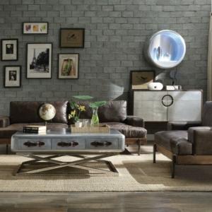 ein wohnzimmer im industrial style ideen
