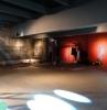 raumakustik verbessern akustik deckensegel aufhängen große halle raumakustik licht