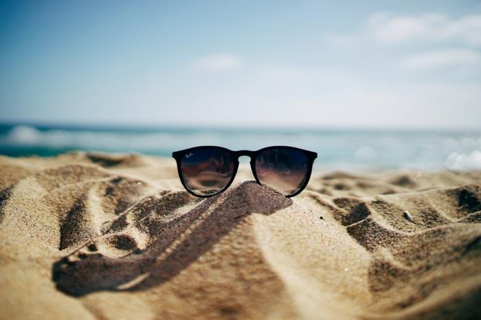 sommerbrille sommertrends meer und sand