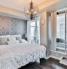 tapeten kleben schritt für schritt tipps tricks schlafzimmer einrichten wandtapete wanddeko ideen
