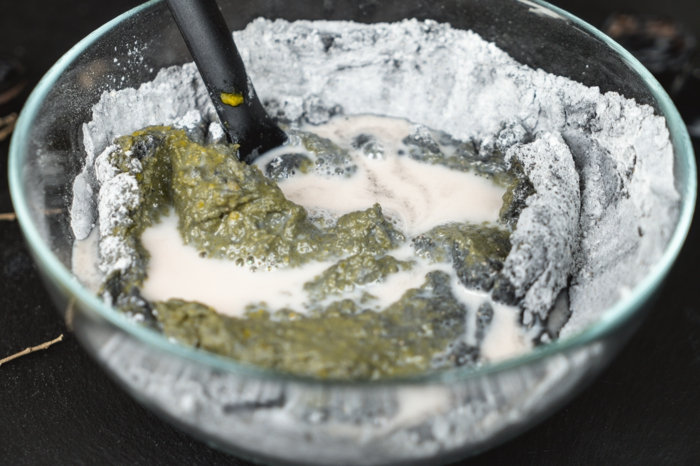 13 mischung aus mehl hefe und aktivhohle teig für brötchen selber machen kürbis backen leicht und schnell rezept