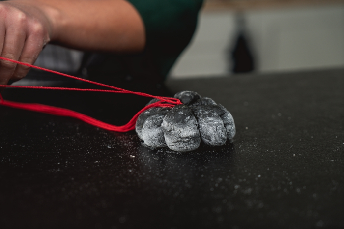 28 roten seil um den teig binden kürbisbrot rezept mit frischer hefe selber backen halloween rezepte leicht und schnell