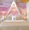 fototapete pastellwolken im schlafzimmer