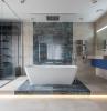 badezimmer einrichten badeinrichtung ideen badezimmergestaltung moderne möbel wanne
