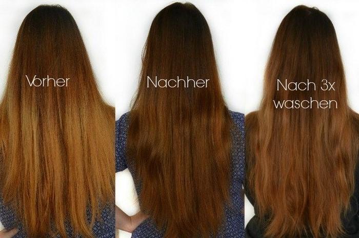 braune haare färben haare tönen haare selber färben schöne haarfarbe braun haltbarkeit der farbe nach drei waschen