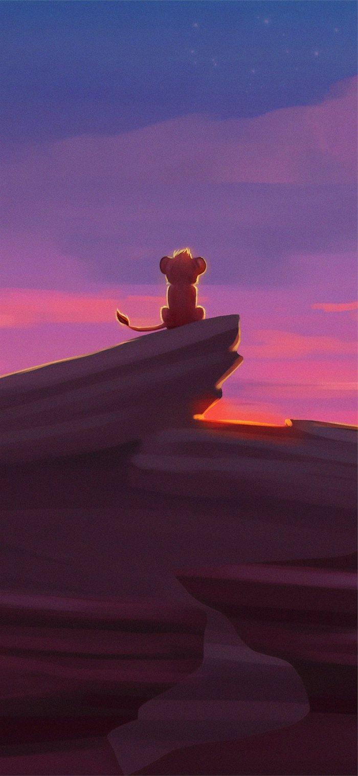 der könig der löwen simba kleiner löwe hintergrund bilder disney figuren aesthetic wallpaper cartoon