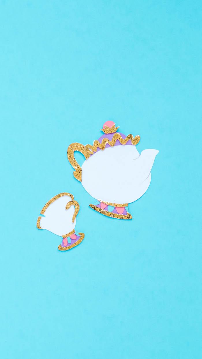 die schöne und das biest disney wallpaper iphone madame pottine und tassilo süße bilde für handy hintergrund