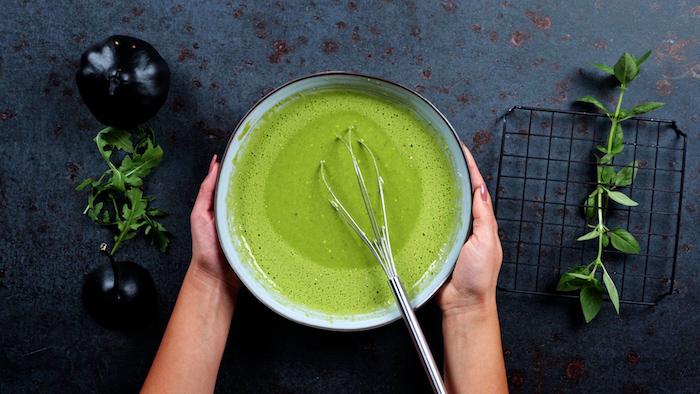 gefüllte pfannkuchen pfannkuchen füllung spinat dünne pfannkuchen rezept spinat smoothie