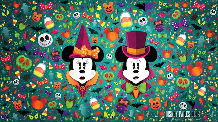 halloween hintergrung für pc hintergrundbilder mickey mouse und minnie mouse verkleidet süße gruselige bilder