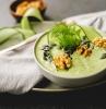 kalte suppe gaspacho kochen avocadosuppe mit gurke und dill leckere sommerrezepte