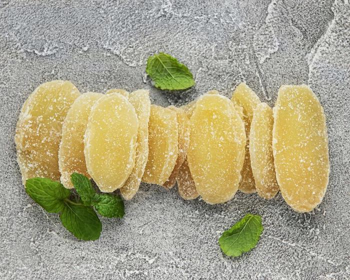 kandierte ingwer selber machen frische pfefferminze blätter kandierte früchte selber machen