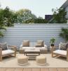 loungemöbel garten modern eingerichtetn grüne pflanzen gartenmöbel kaufen