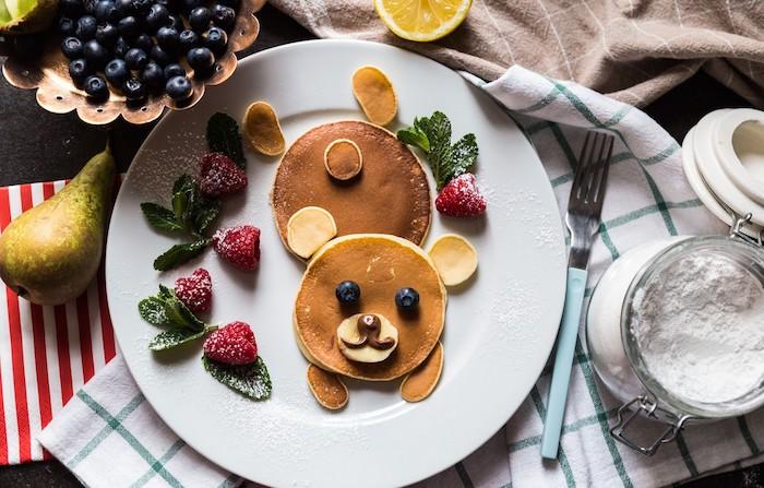 pfannkuchen vegetarisch pfannkuchenfüllung gefüllte pfannkuchen rezept amerikanische pfannkuchen beer frische früchte bananen