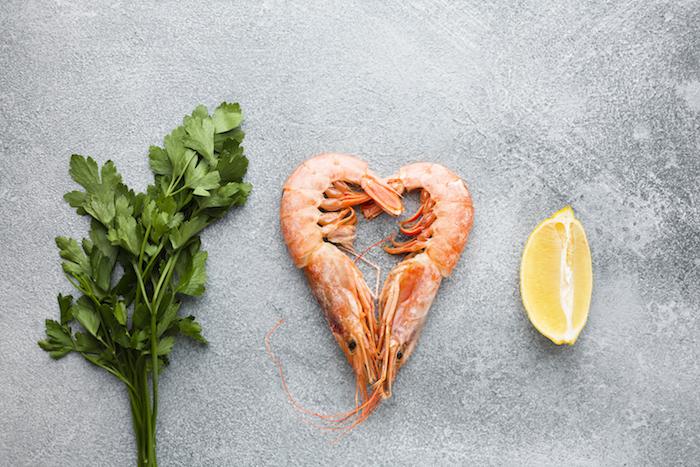 schnelles abendessen leicht essen am abend schnelle rezepte abendessen kimbino frische garnelen zitrone petersilie