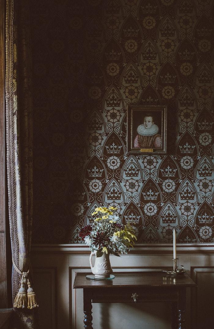 wandtapete roller tapete grüne tapete tapete grau modern vliestapete blätter wohnzimmer alte tapete gemälde renaissance