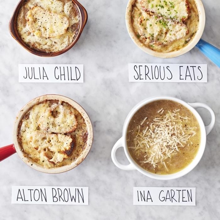 zwiebelsuppe französisch gesunde rezepte zum ausprobieren suppen rezepte schnell und einfach