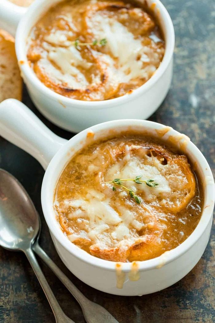 zwiebelsuppe französisch gesunde suppe leckere rezepte zum ausprobieren was koche ich heute