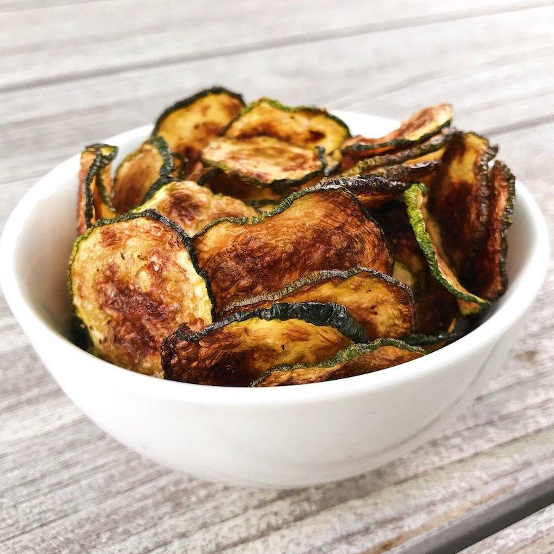chips mit wenig kalorien selber machen aus zucchini