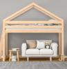 hochbett mit treppe hochbett für kinder halbhochbett aus massivholz hochbett aus holz mit weißem sofa zwei schränke