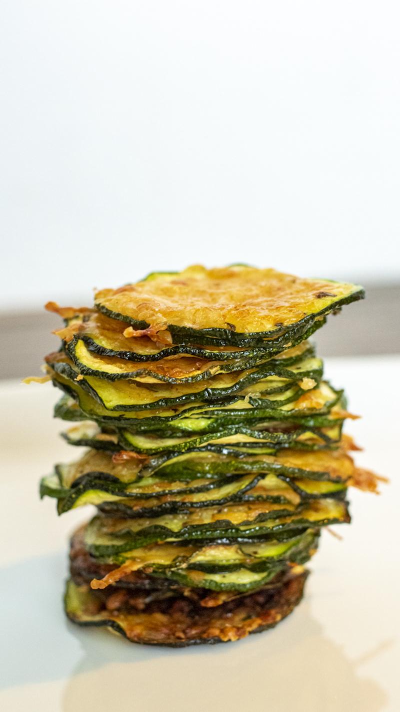 leckere parmesan chips selber machen leichtes rezept