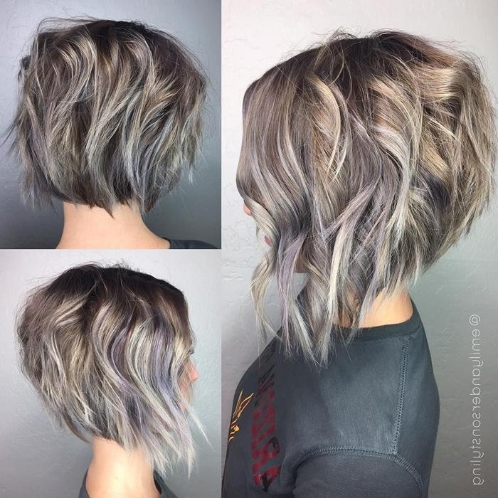long pixie cut frisuren die junger machen graue haare mit strähnen damenfrisuren
