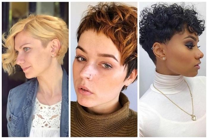 long pixie cut frisuren für ovales gesicht moderne frauenideen haarschnitte kurz frauen