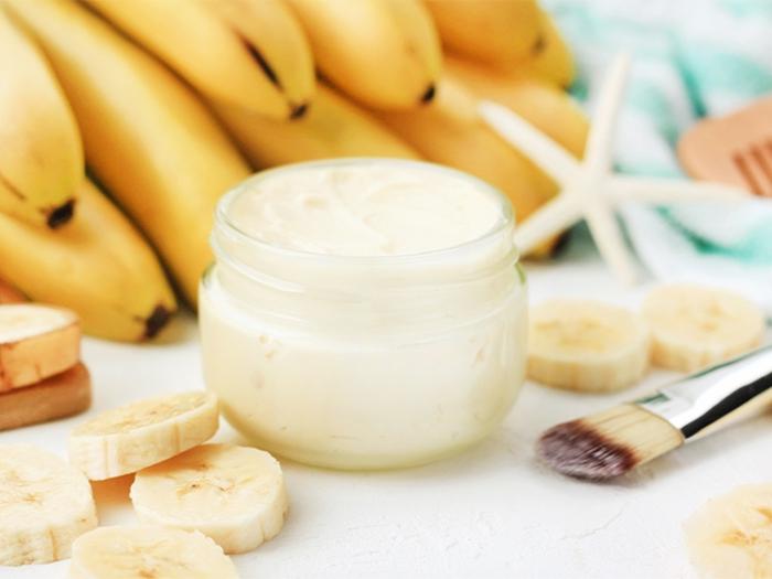 was tun gegen haarausfall haarkur mit banane und mandelöl